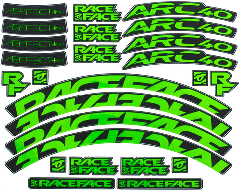 ARC 40/Aeffect 40 Stock Decal Kit / Gloss Finish