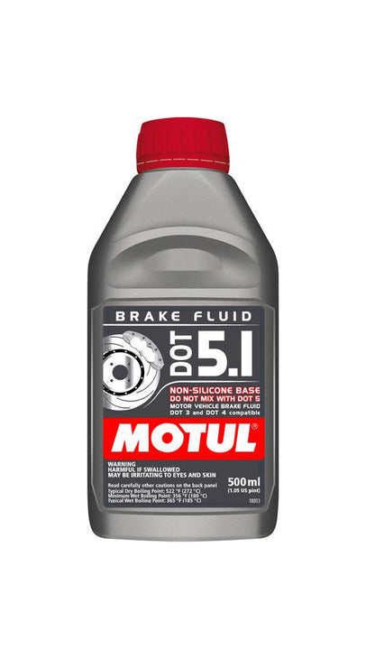 DOT 5.1 Brake Fluid - 500ml