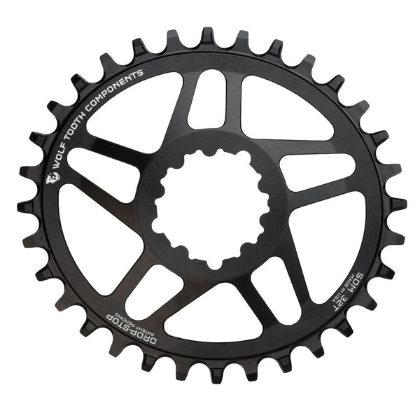 Drop-Stop Oval Chainring for SRAM DM