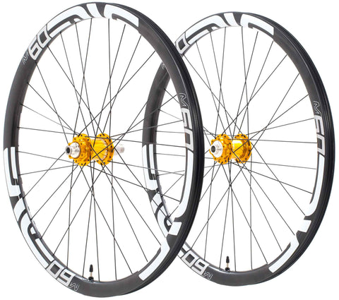 "M60 / Chris King ISO XD 12x142/15x100mm 27.5"" Wheelset"
