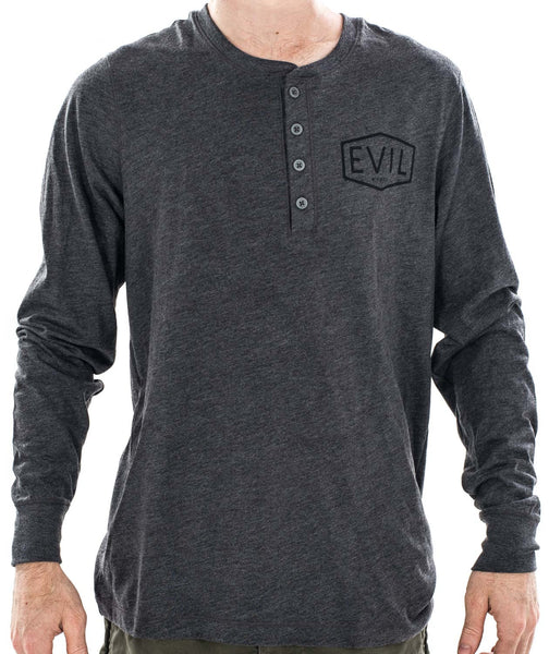 Gasser Henley Long Sleeve Tee