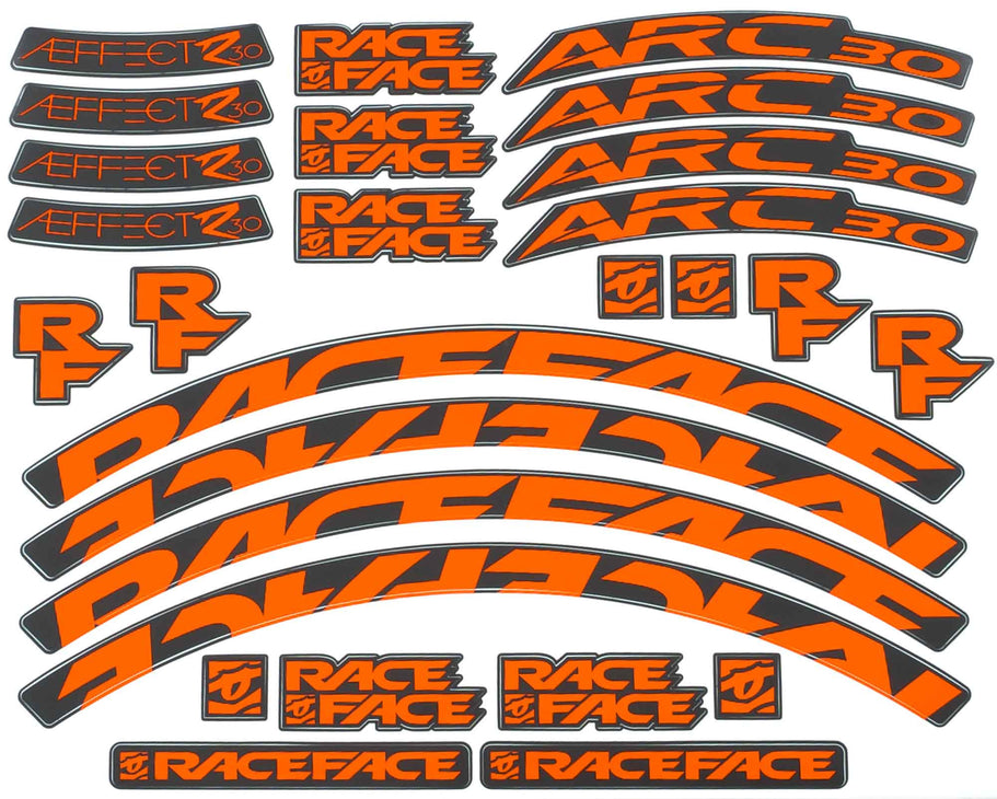 ARC 30/Aeffect R 30 Stock Decal Kit / Gloss Finish