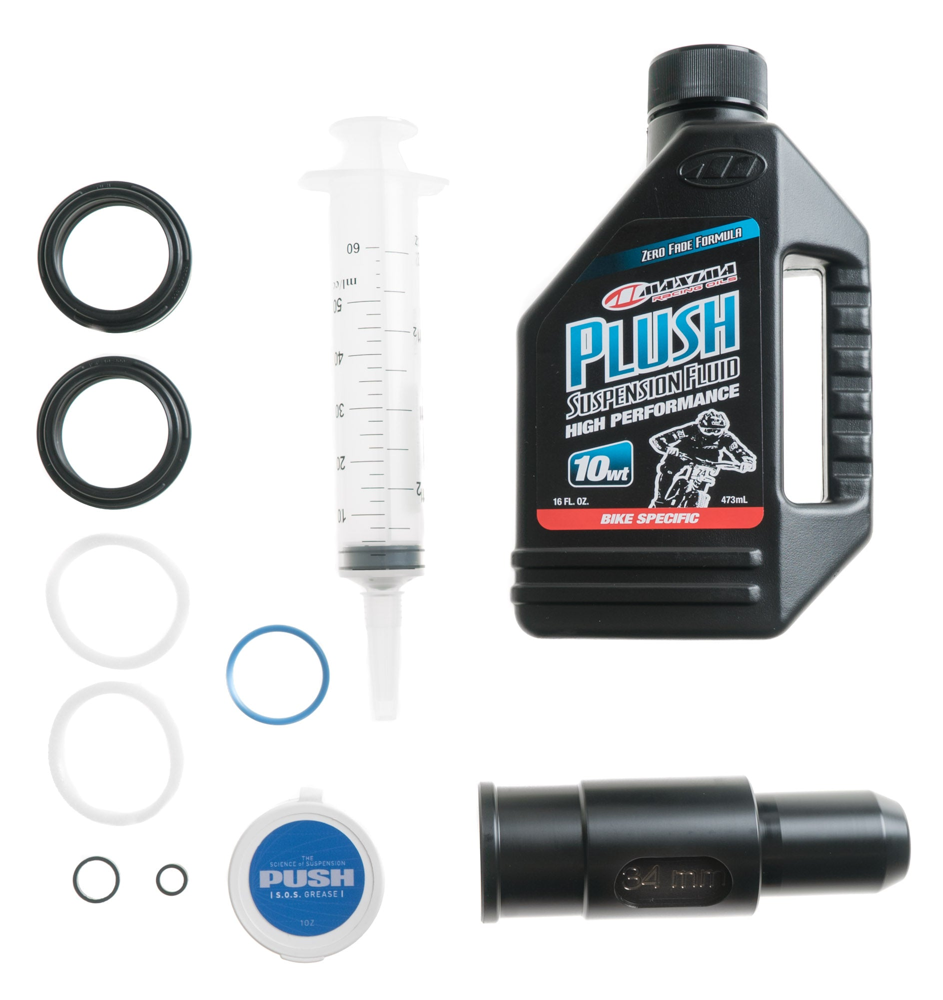 Fox 36mm PUSH Industries Complete Lower Leg Service Kit