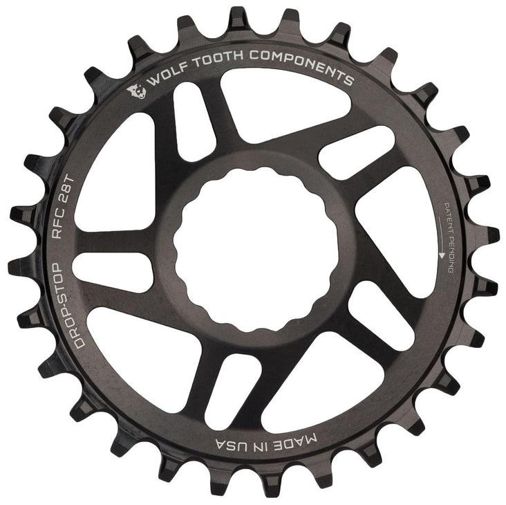 Drop-Stop Cinch Chainring