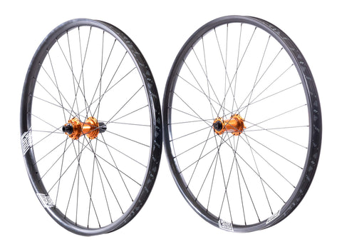 "Custom Union 29"" Carbon Boost Wheelset"