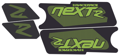 Next R Crank Decal Kit