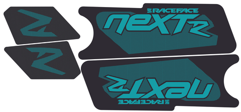 Next R Crank Decal Kit / Matte Finish