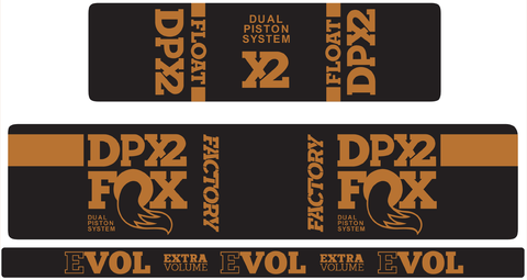 Float DPX2 Decal Kit / Matte Finish - Discontinued Colors
