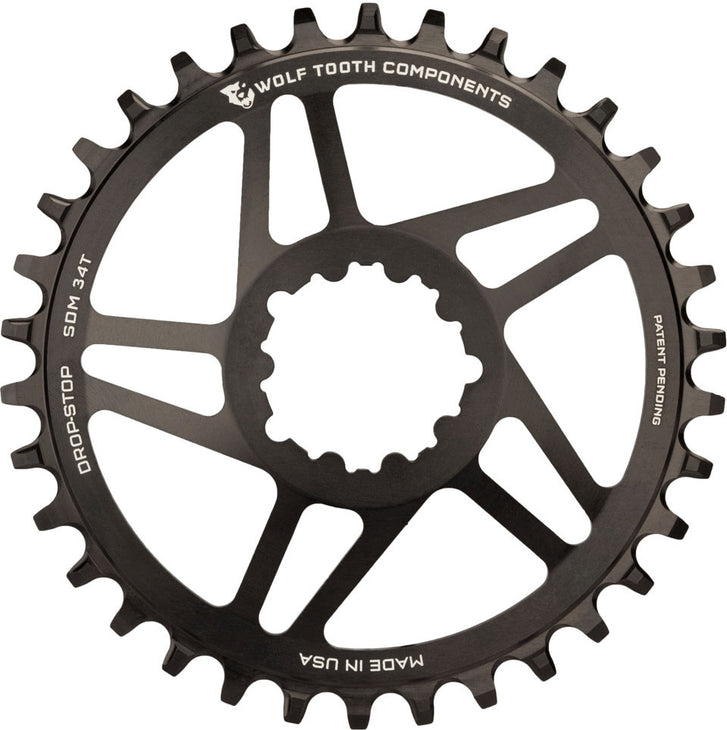 Drop-Stop GXP Direct Mount Chainring
