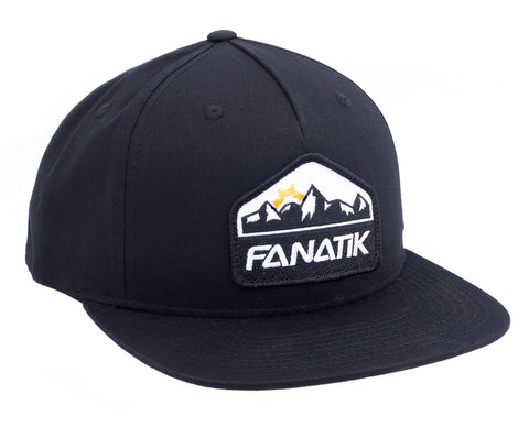 Logo Patch Snapback Hat