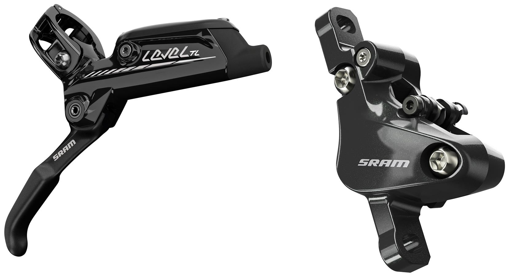 Left SRAM Level TL Disc Brake Black Front