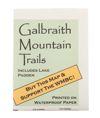 Galbraith Folding Map