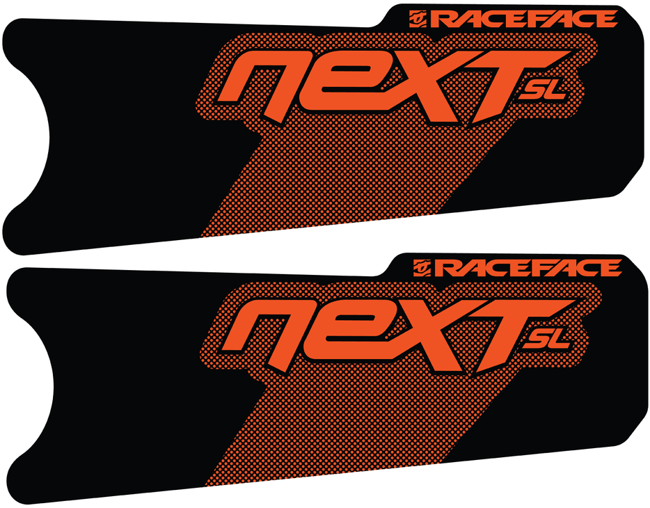 Race Face Next SL G4 Crank Decal Kit