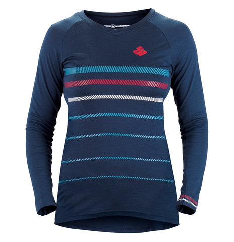 Women's Badlands Merino LS Jersey