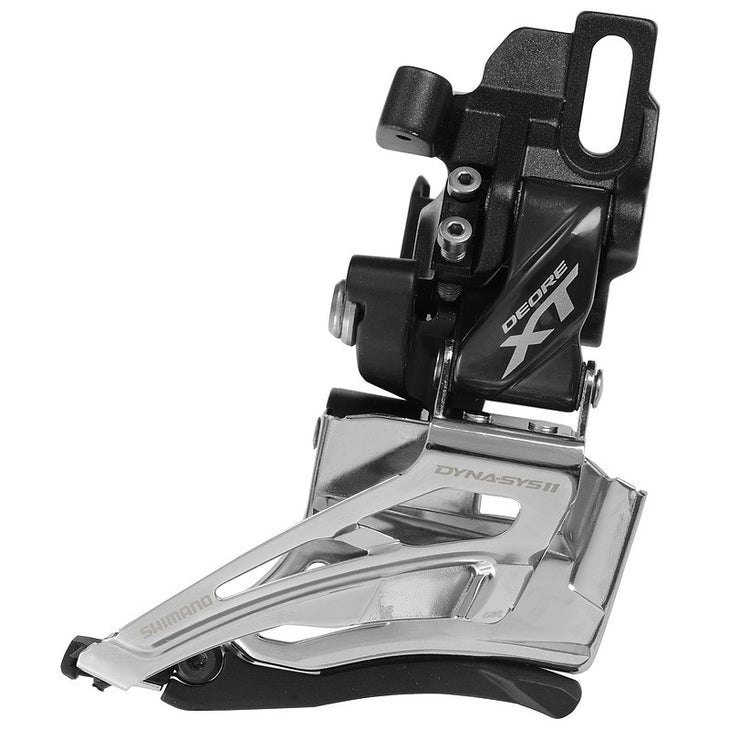 XT M8025 2x11 Down-Swing Direct Mount Dual Pull Front Derailleur