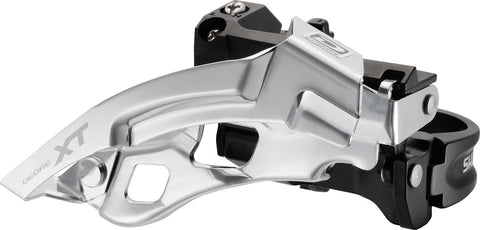 XT M780 3x10 Front Derailleur (Top Swing, Clamp-On)