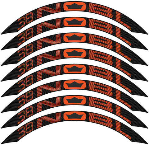 TR38 Rim Decal Kit