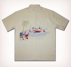 "Bamboo Cay ""Catch of the Day"" Men's Resort Wear"