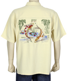 "Bamboo Cay ""Koi Fish"" Resort Wear"