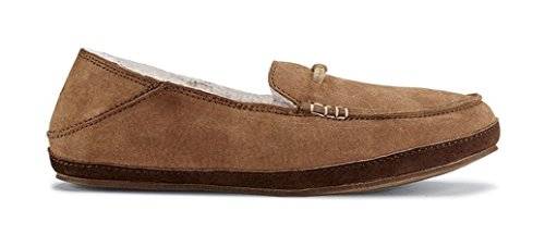 OLUKAI Pa'Ani Slipper - Women's Tan/Dark Java 6