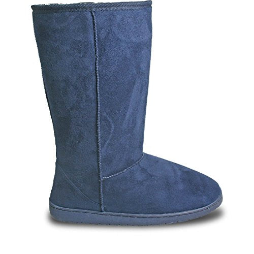 DAWGS USA Women's 13-inch Microfiber Boots - Navy