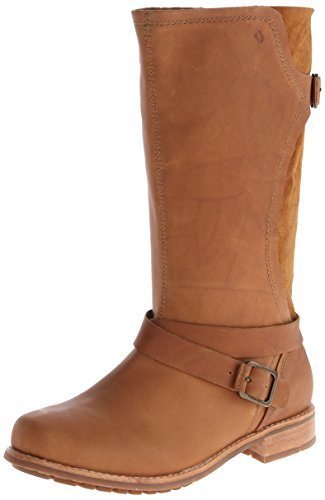 OLUKAI Paia Leather - Womens Boot Koa/Koa - 8.5