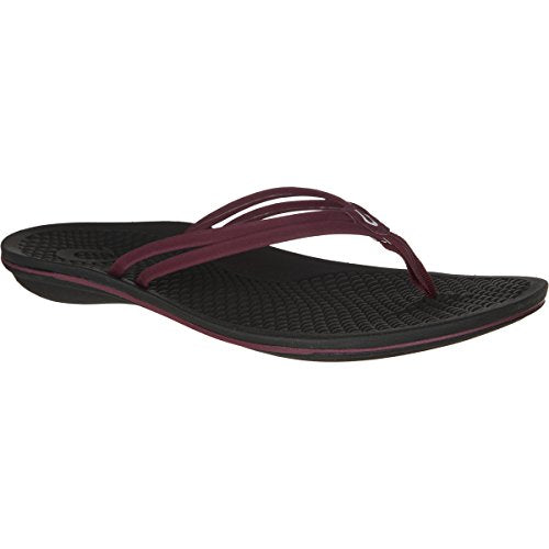 OLUKAI Unahi Sandal - Women's Beet Red/Black 6
