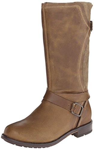 OLUKAI Pa'ia Leather Boot - Women's Mustang/Mustang, 6.0