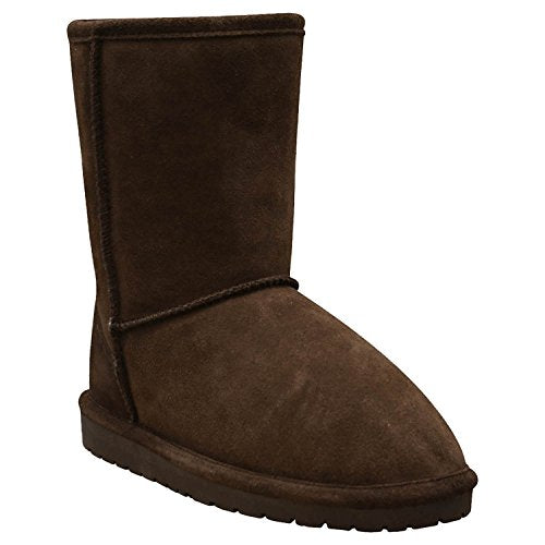 DAWGS Women's 9 Inch Cow Suede  Boot,Chocolate,8 M US