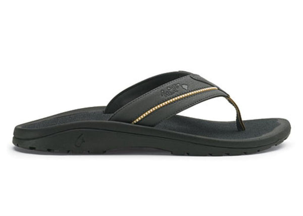 OLUKAI Kia'I II Sandal - Men's Dark Shadow/Dark Shadow 10