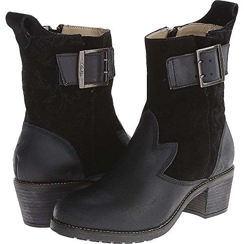 OLUKAI Kaiulani - Womens Heeled Boot Black/Black - 11