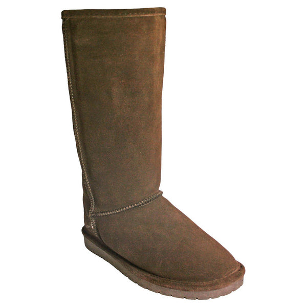 Women's Dawgs 13-inch Cow Suede Boots Chocolate