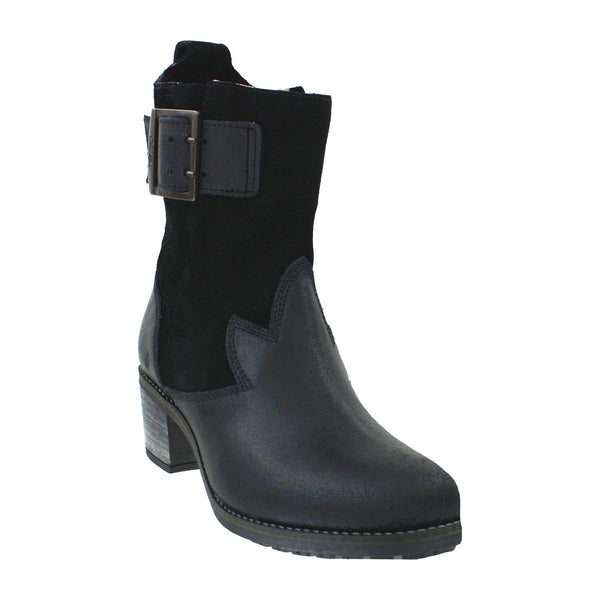 OLUKAI Kaiulani - Womens Heeled Boot Black/Black - 6