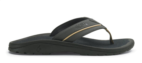 OLUKAI Kia'I II Sandal - Men's Dark Shadow/Dark Shadow 13