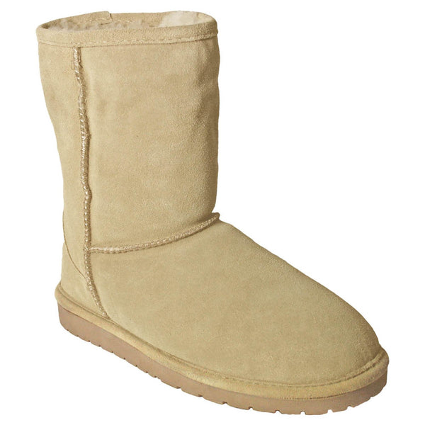 DAWGS Women's 9 Inch Cow Suede  Boot,Natural,5 M US