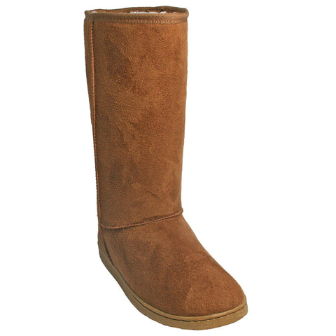 DAWGS Women's 13 Inch Lined Microfiber Boots - Chestnut
