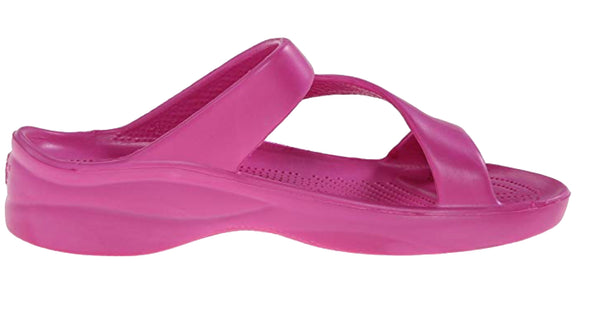 Dawgs Women's Original Solid Z-Sandals - Hot Pink