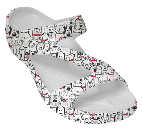 DAWGS Women's Loudmouth Z-Sandals - Woof