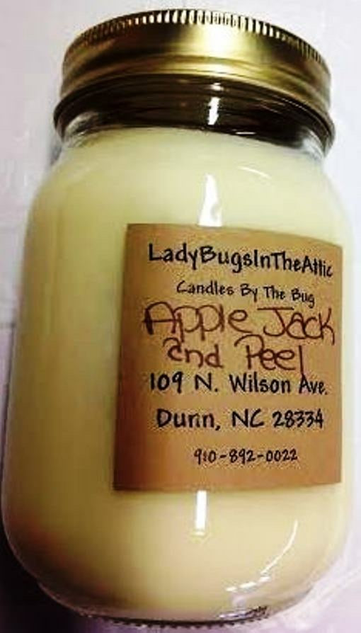 Apple Jack And Peel Soy Candle