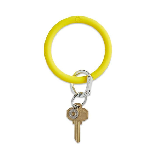 Silicone Big O® Key Ring BRIGHT Waterproof, velvety soft, and always in a good mood, the Silicone Bright Yes Yellow is there to help simplify your day from sun up to sun down. The Original Big O® Key Ring is a one-size-fits-all bracelet key ring. Stocking Stuffer. Oventure. Multitudes Boutique. Cutest Online Boutique.