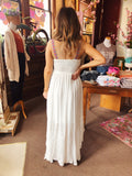 The Hannah High Low Dress is one of those special little sundresses to have in your closet for all the summer things! We love the high-low hemline, the back smocking, and the embroidered netting all along the front. It is also fully lined. Best Online Boutique. Multitudes Boutique. Free Shipping. Hannah High Low Dress.