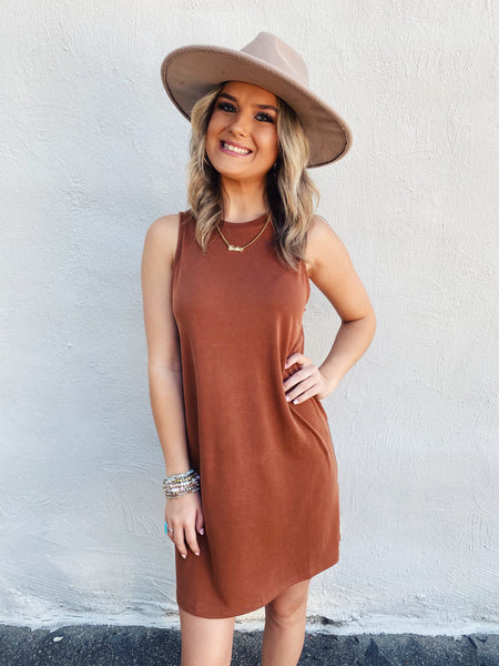 Light Leopard T-Shirt Dress