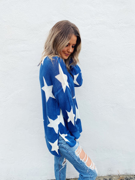 Love the Dallas Cowboys? Then snag this For the Boys Star Sweater! We know this year is different, but the Cowboys are playing! So root them on from your couch while wearing this Star Sweater for luck and watch 'em win! God's Favorite Football Team. Multitudes Boutique. Cutest Online Boutique. Dallas Cowboy Fan Forum.