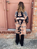 Love the Yellowstone Beth Dutton Vibe? Then snag this Desert Aztec Cardigan! Seriously, cozy up in this Aztec Cardigan with your flares, Honeysuckle Tee, and flat brim and walk like you own the town...just like Beth (only nicer). LOL! Honeysuckle Tees, Multitudes Boutique. Cutest Online Boutique.