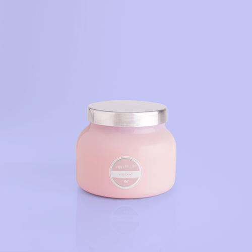 Capri Blue Pink Volcano Candle Small