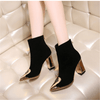 Black Ankle Boots For Women Gold Accent Boots Ankle Boots Daisy Dress For Less