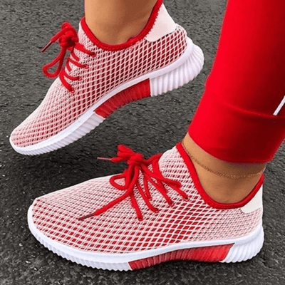 Breathable Running Shoes Canvas Lace Up Shoes For Womens Women's Shoes Daisy Dress For Less