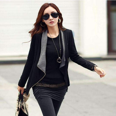 Casual Side Zipper Cardigan Jacket Cardigan Daisy Dress For Less