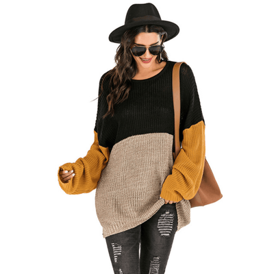 Chunky Oversized Sweater Women Knitted Pullover Pullovers Daisy Dress For Less