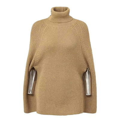 Chunky Turtleneck Sweater Womens Poncho Cape Pullovers Daisy Dress For Less